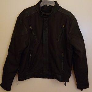 Men's Leather Club Motorcycle Jacket